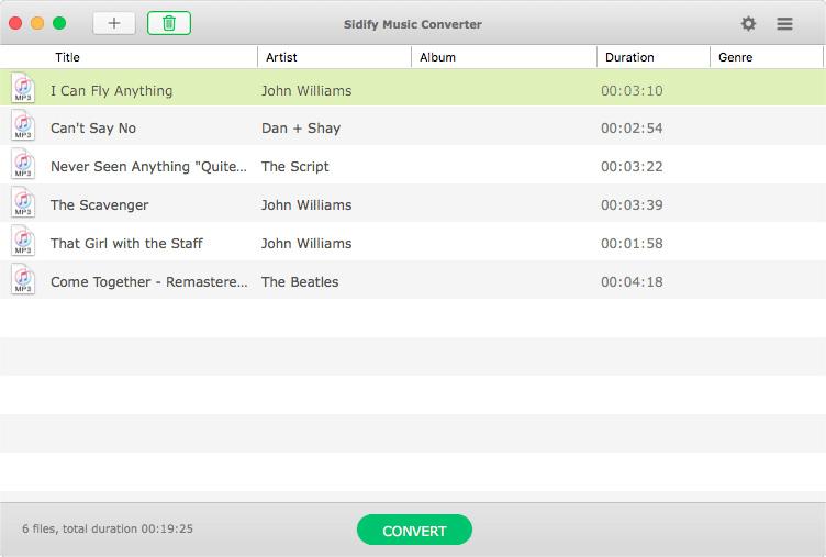 Sidify Music Converter screenshots 5 (1)