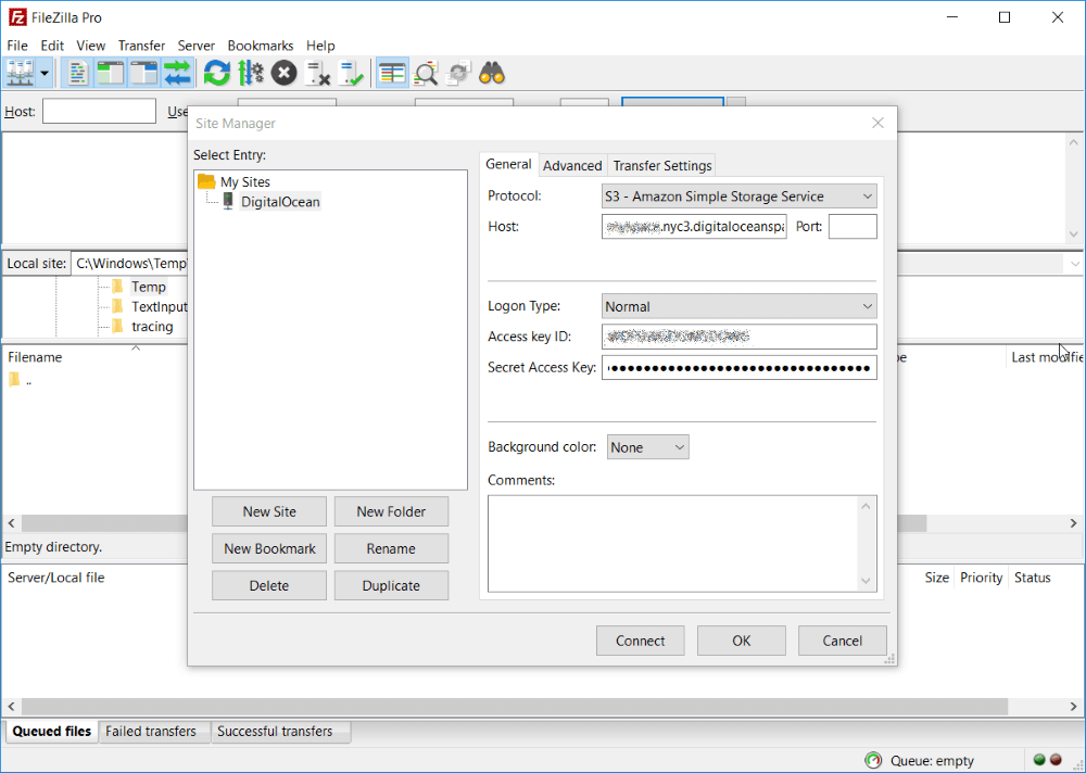 FileZilla Pro s4