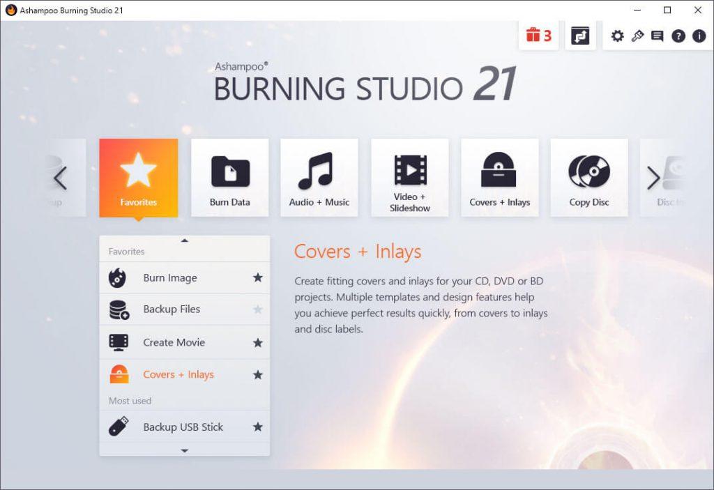 Ashampoo Burning Studio 1